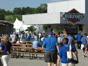boulevard brewery @ Major League Kansas City Royals