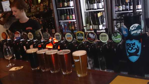 Taps on Malthouse