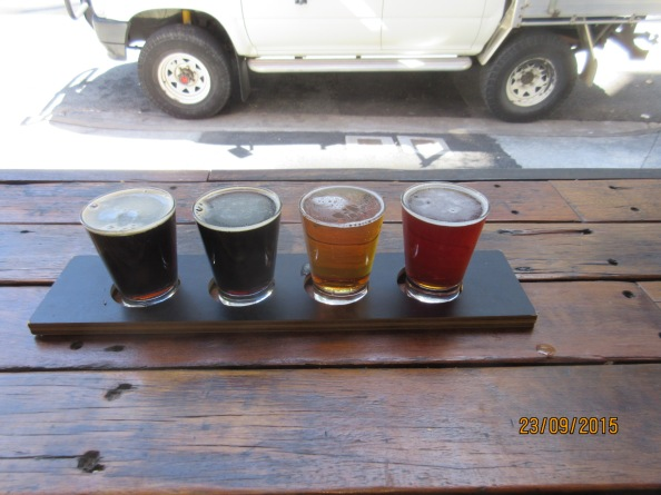 Beer Paddle Newstead Brewing